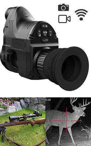 monocular HGERFXC especial para caza con acoples para rifle